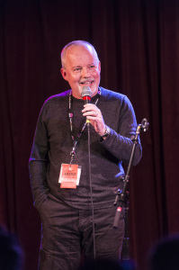 Michael Robotham at This Really Happened at WordFest 2014.   Photo by Rita Taylor - The Banff Centre 2014.