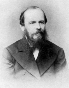Fyodor Dostoyevsky. Photo: Wikimedia Commons.