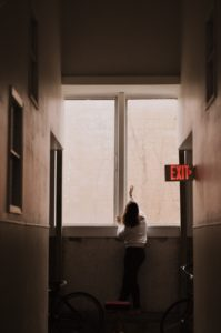 Ignoring the Exit, photographed by Emily Townsend (2016).